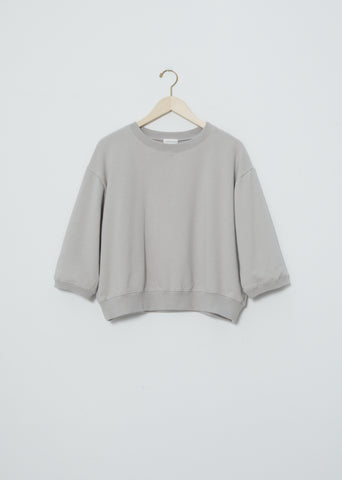 3/4 Sleeve Sweatshirt — Light Grey
