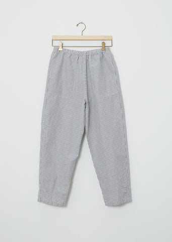 Linen & Cotton Pullon Trousers