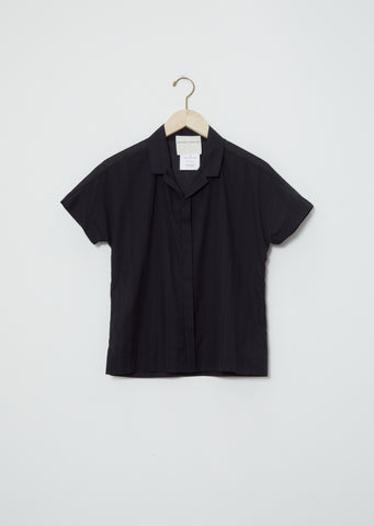 Cotton Pilgrims Blouse — Black