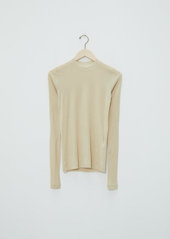 Giza Super High Gauge Sheer L/S Tee