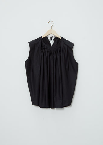 Gathered Front Sleeveless Top
