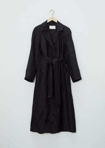 Silk Organza Trench Coat