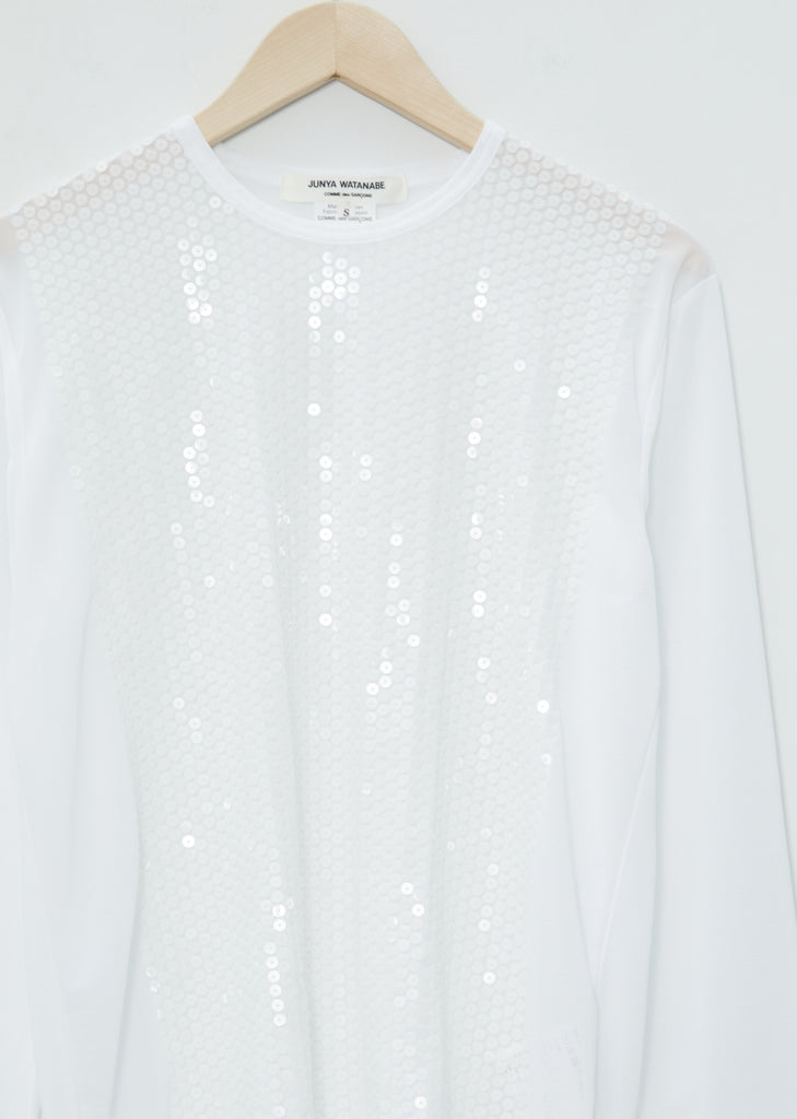 Sequins T-Shirt — White