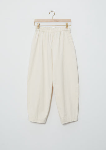 Cotton Ease Trouser — Créme