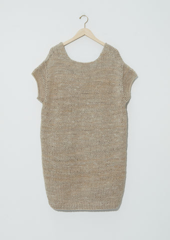 Handknit U Neck Dress
