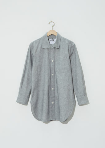Cotton-Linen Long Shirt