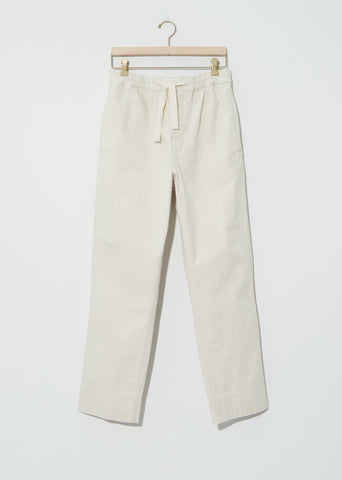 Natural Denim Sports Trouser