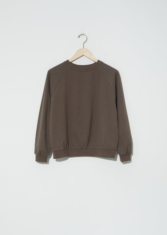 Summer Studio Sweatshirt — Olive Brown