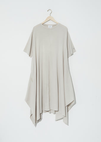 Biwa Cotton Dress — Greige