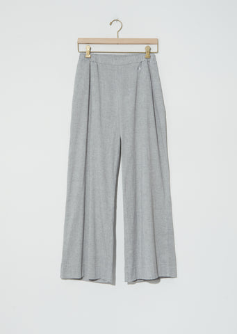 Biwa Cotton Pants — Mix Grey