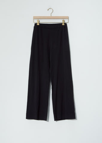 Biwa Cotton Pants — Black