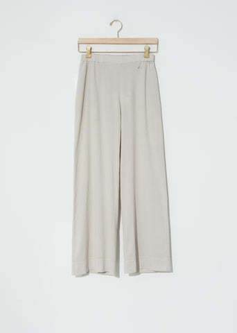 Biwa Cotton Pants — Greige