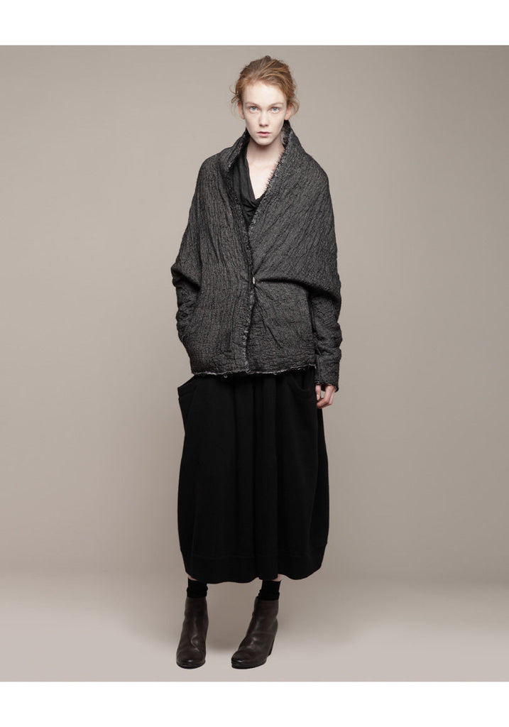 Double Layered Batwing Coat