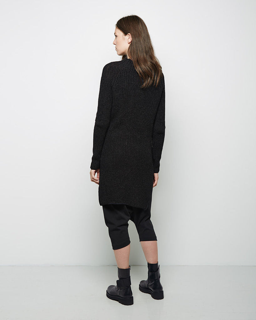 Mock Neck Pullover Dress