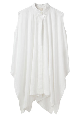 Sleeveless Poncho Shirt