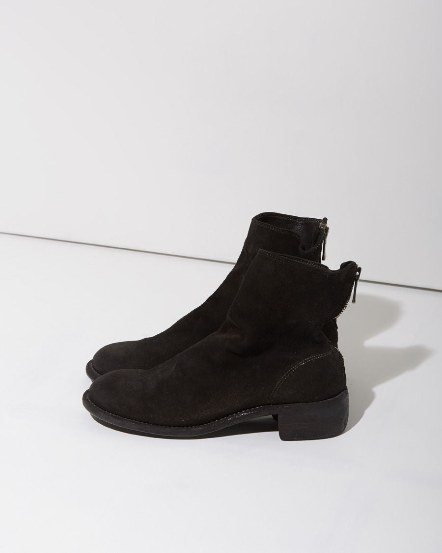 Zip-Back Short Boot