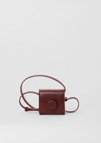 Mini Camera Bag — Red