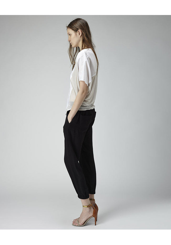Cropped Cocoon Shirt