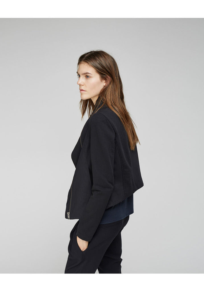 Drape Neck Jacket