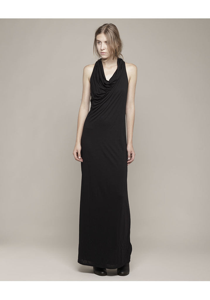 Draped Back Tank Dress