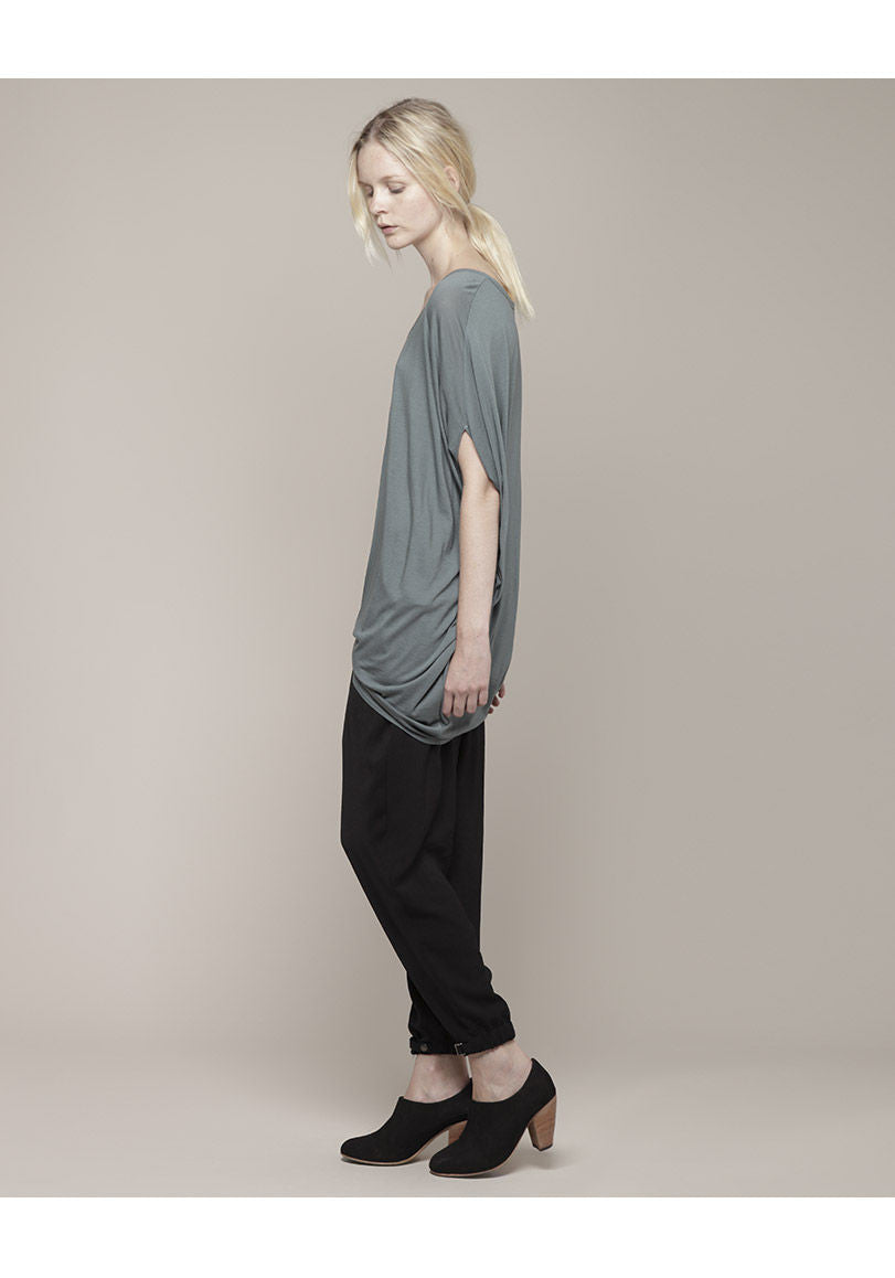 Feather Jersey Oversize Top