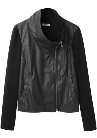Glazed Cotton Jacket
