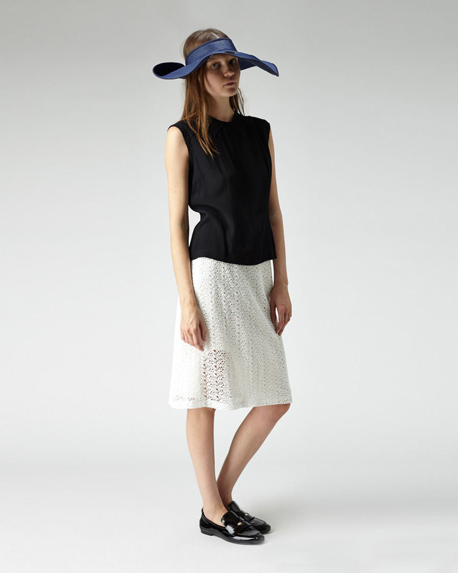 Cut-Out Straw Hat