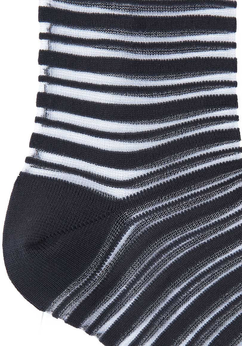 Sheer Stripe Socks