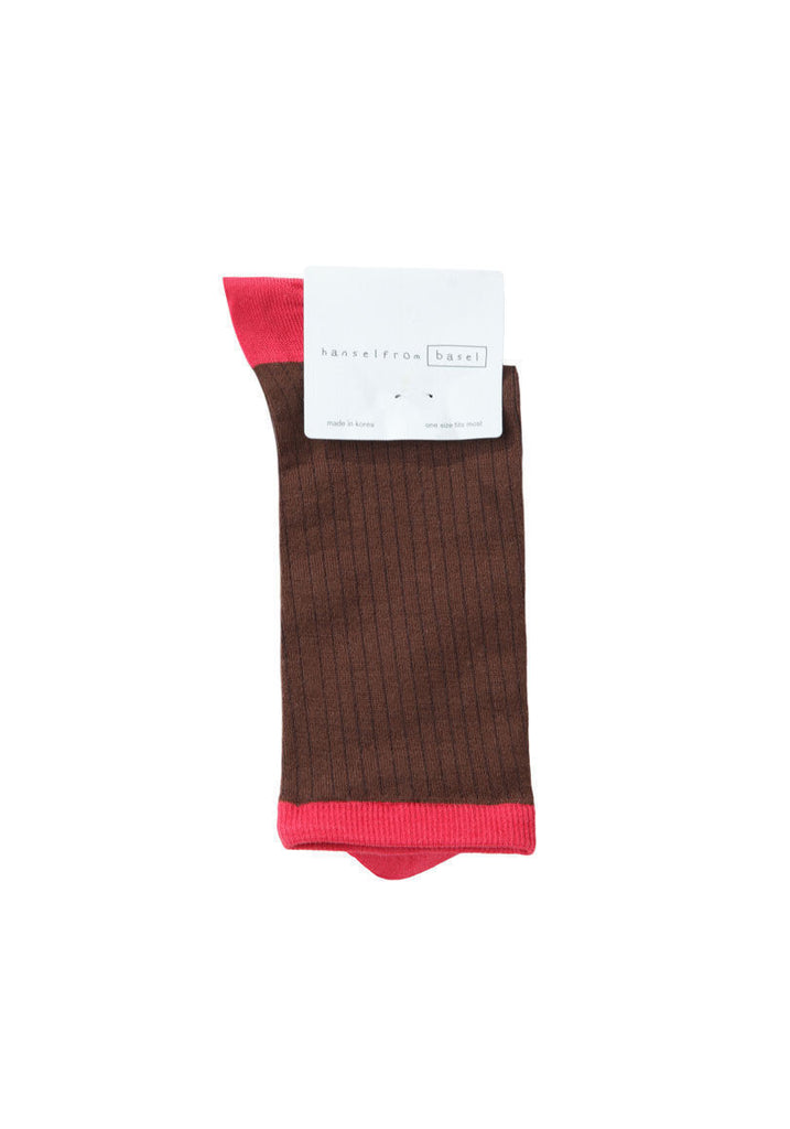 Silk Colorblock Socks