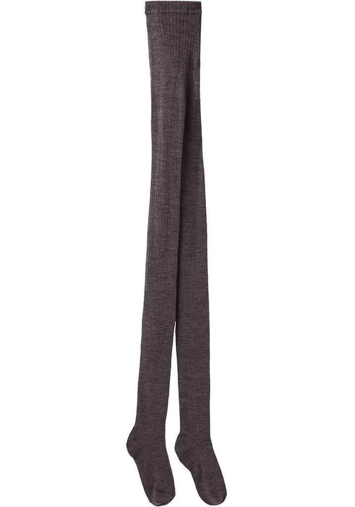 Wool Rib Tights