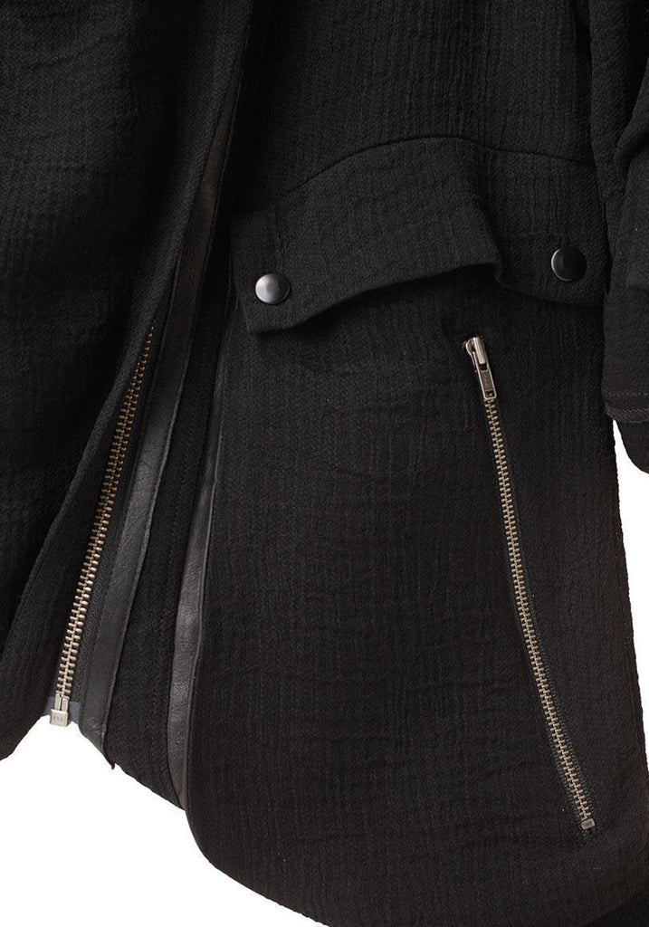 Asymmetric Zip Jacket
