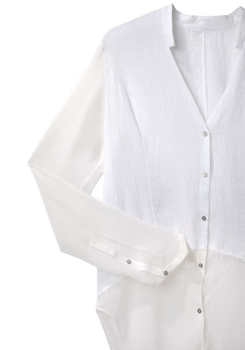 Element Sheer Hem Shirt