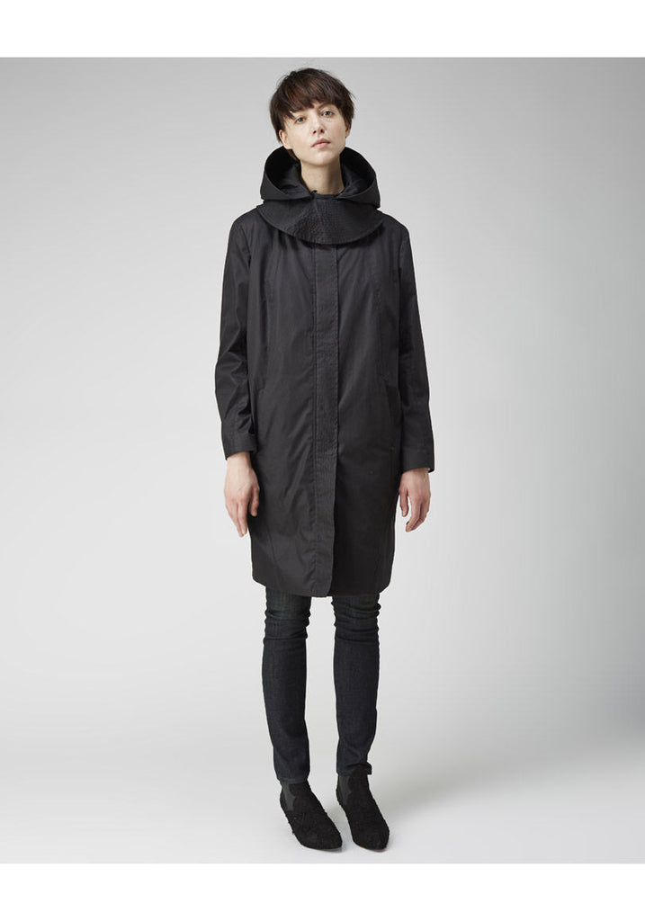 Hooded Trench