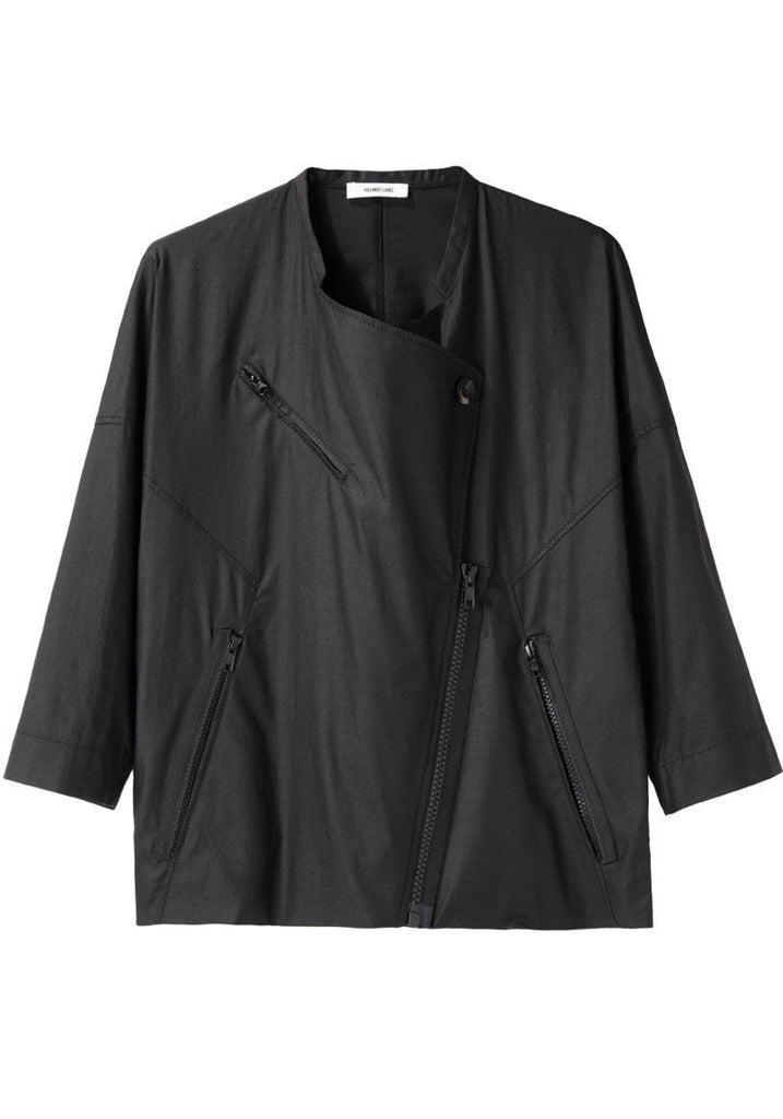 Lacquered Cotton Jacket