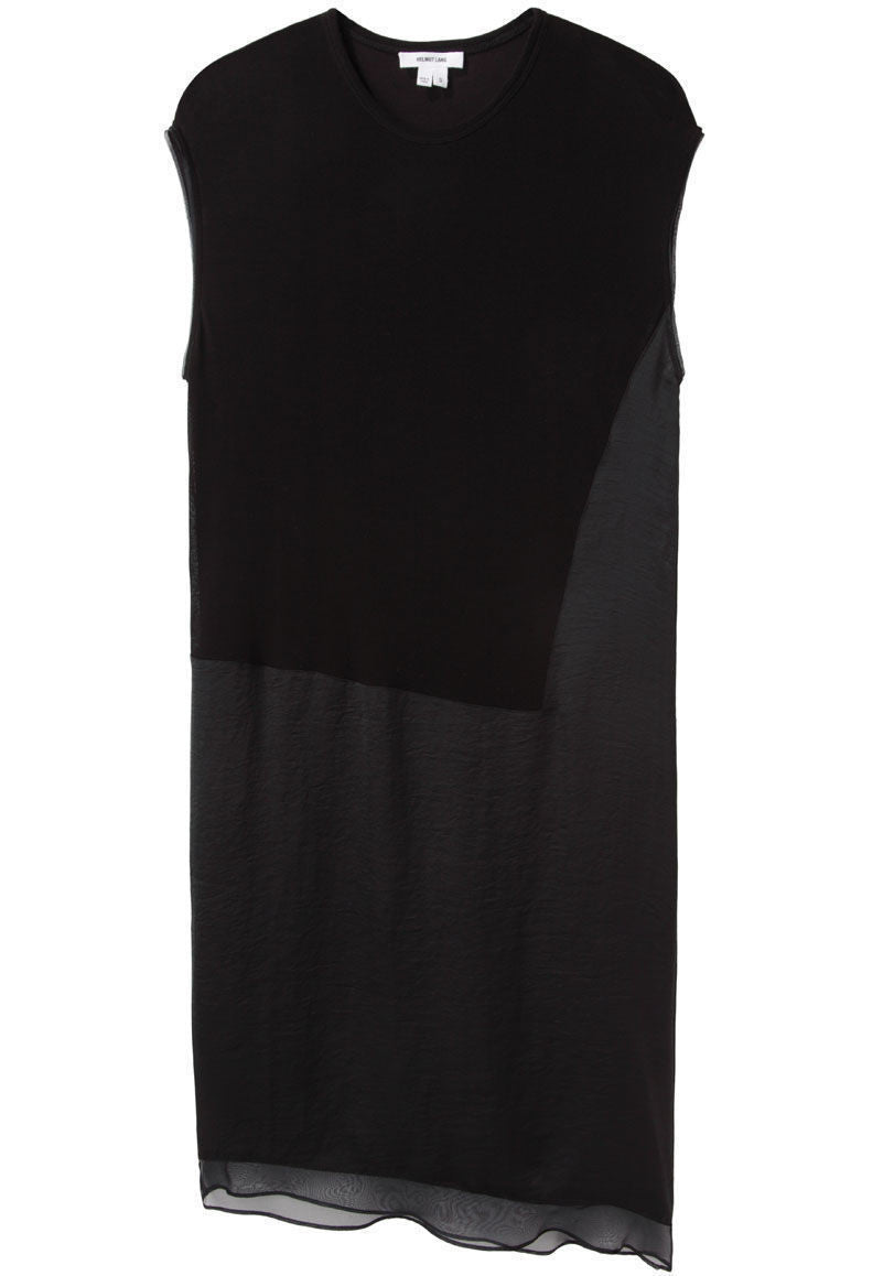 Layered Jersey Dress