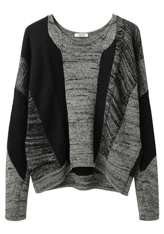 Mixed Stitch Pullover