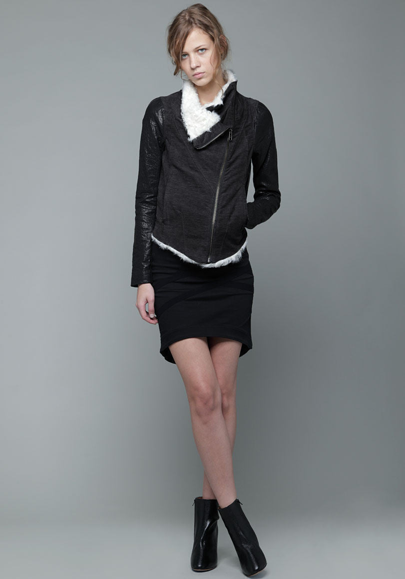 Shearling Collar Jacket