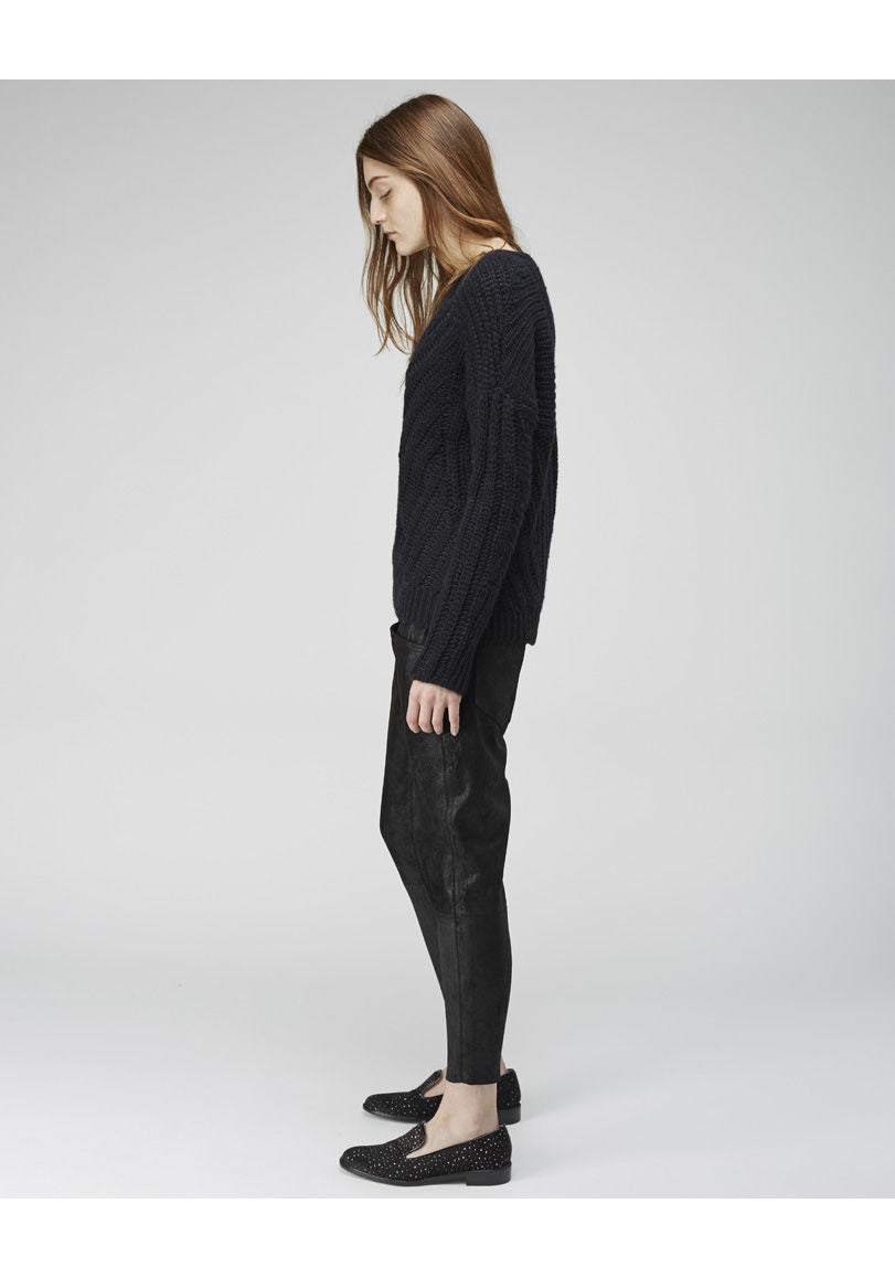 Shifting Knit Pullover