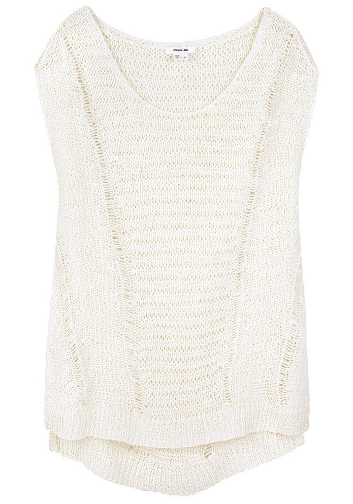 Sleeveless Linen Sweater