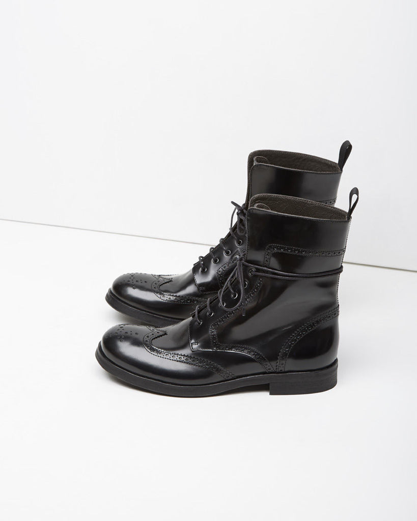 Lace-Up Field Boot