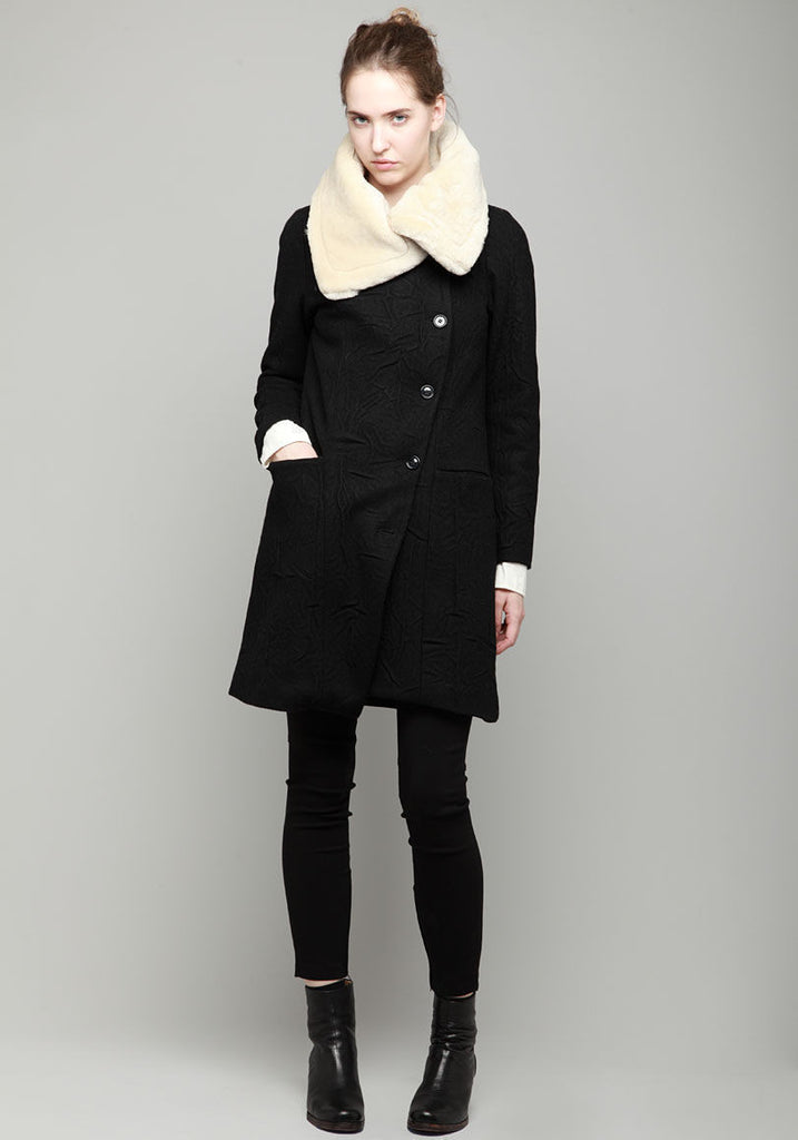 Ullman Coat w/ Pile Collar