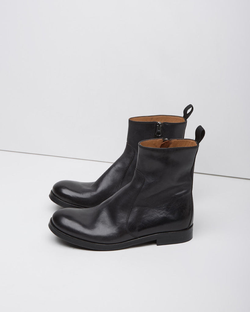 Zip-Up Field Boot