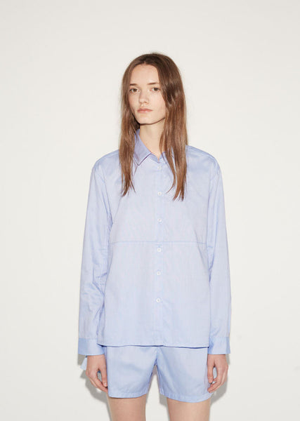 The Sleep Shirt Button Down Top and Short Set La Garconne