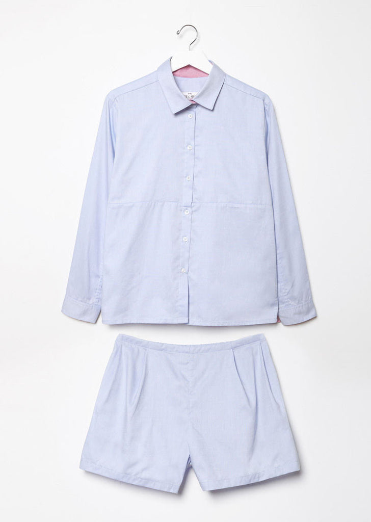 Button Down Top and Short Set