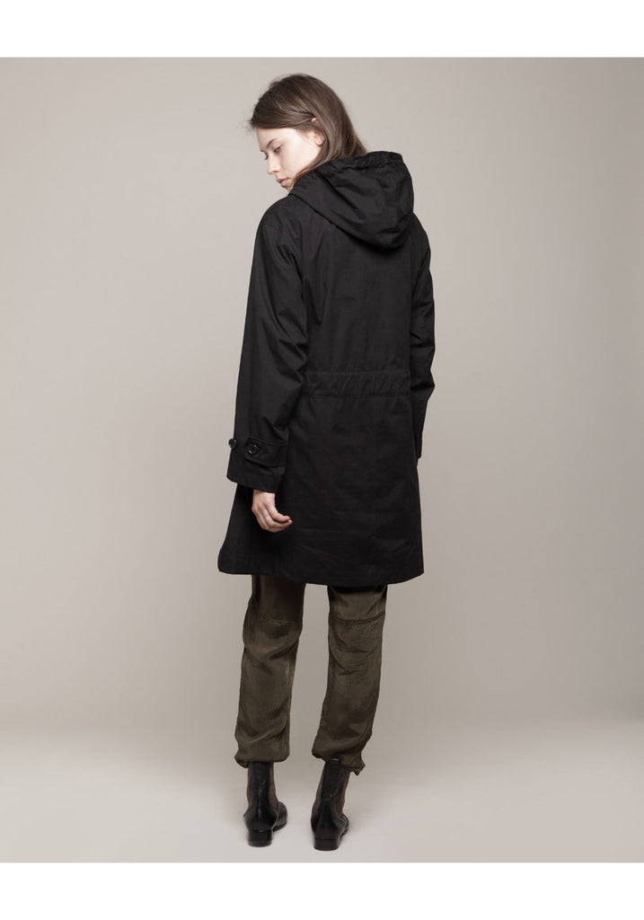 Brushed Hooded Parka