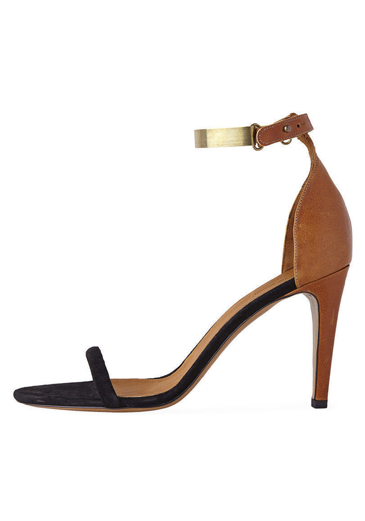 Adele Metal Strap Stiletto
