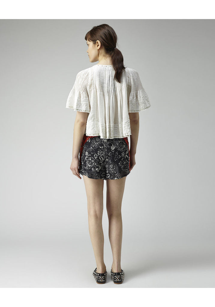 Alexia Embroidered Top