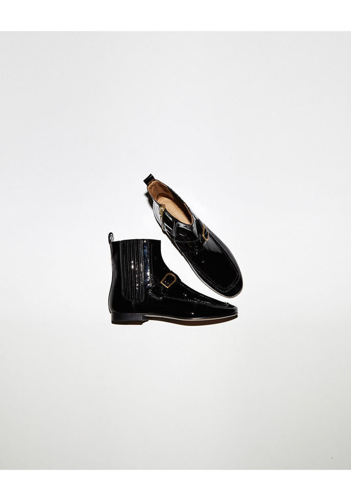 Alvyn Patent Boot