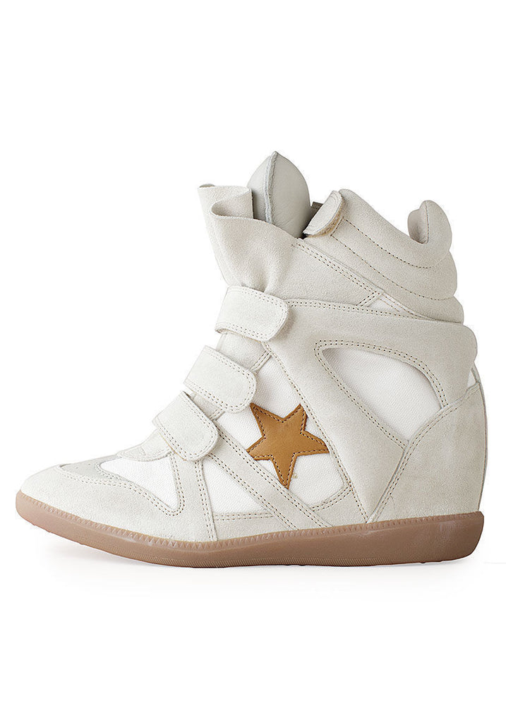 Bayley High-Top Sneaker w/Star
