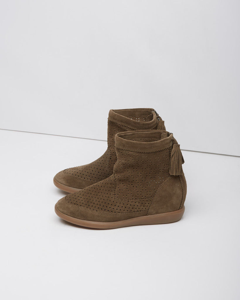 Beslay Suede Moccasin Boot
